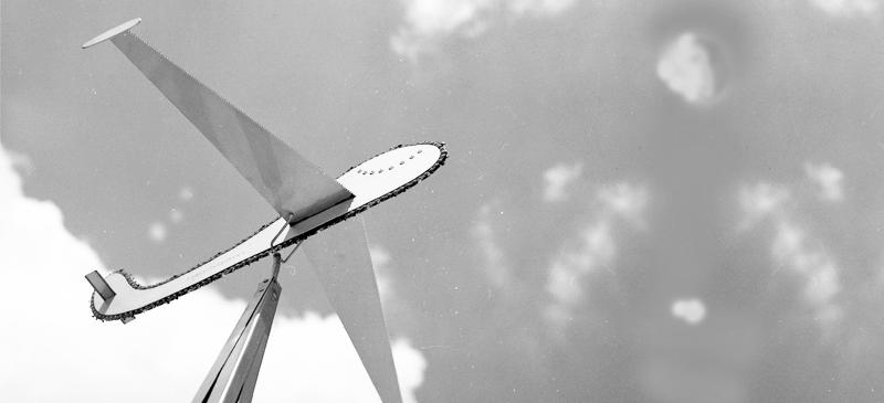 Sägelflugzeug