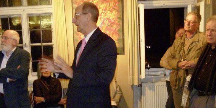 Magnus Kuhn Redner bei Ausstellungseröffnungen
