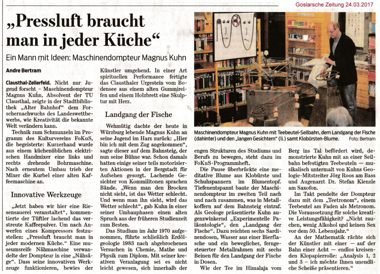 Magnus Kuhn Presse