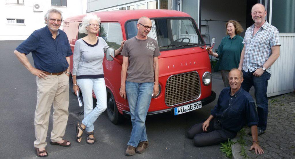Magnus Kuhn Presse Künstlergruppe Transform auf dem Weg nach Danzig