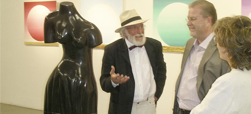 Magnus Kuhn Redner zu Ausstellungseröffnungen